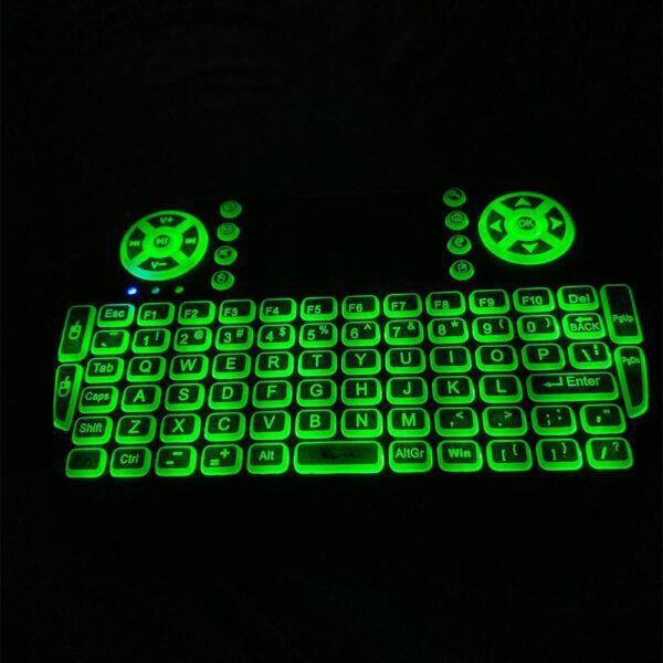 freedom stream keyboard green