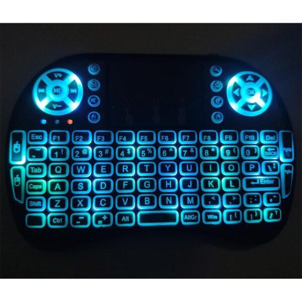 freedom stream keyboard ice blue