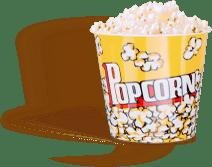 sofa popcorn